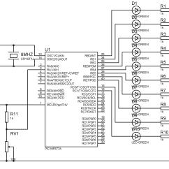 Microcontroller Based Inverter Circuit Diagram Mitsubishi Galant Fuse Box Block Of 16f877a Wiring Library