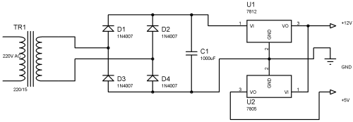 small resolution of 1 power supply section