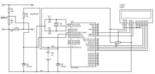 small resolution of circuit diagram voltmeter