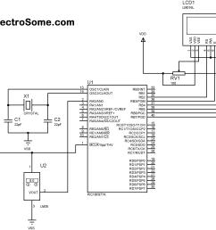 digital temperature sensor circuit diagram wiring diagram today digital thermometer using pic microcontroller and lm35 digital [ 3080 x 2320 Pixel ]