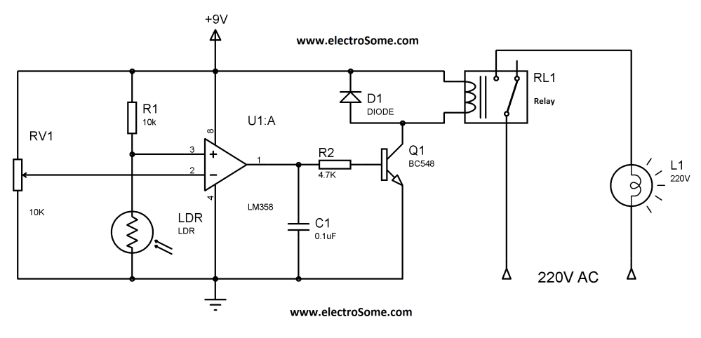 medium resolution of automatic garden light controlling system automatic garden light controlling system circuit diagram