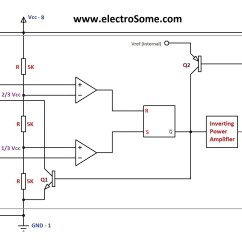 555 Timer Wiring Diagram Mercury Harness Astable Multivibrator Using
