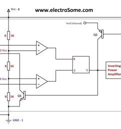 astable multivibrator using 555 timer block diagram [ 1999 x 1390 Pixel ]