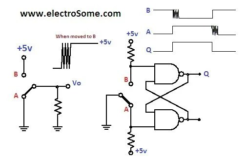 Spdt Relay Schematic Diagram Embed With Elliot Debounce Your Noisy Buttons Part I