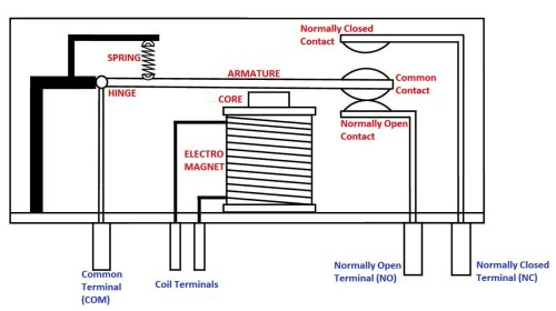 small resolution of electromagnetic relay diagram
