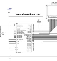 circuit diagram interfacing glcd with pic microcontroller [ 2048 x 1489 Pixel ]