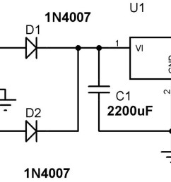 5v power supply circuit using 7805 voltage regulator [ 2048 x 653 Pixel ]