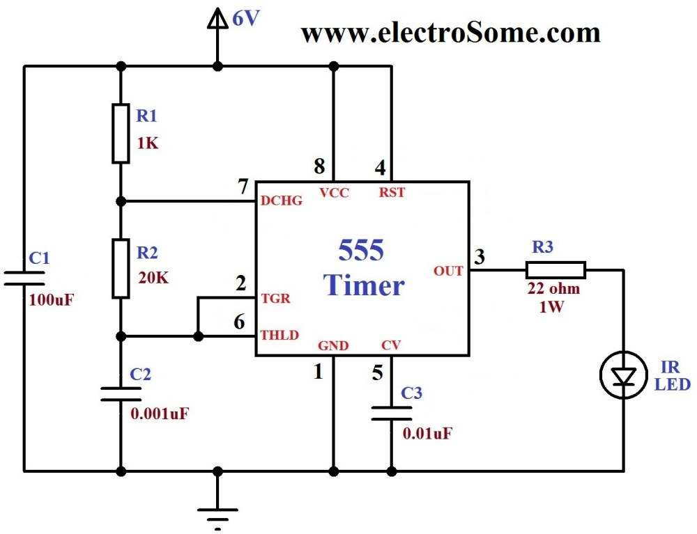 medium resolution of infrared remote control for home appliances hobby in electronics ir remote control home appliance circuit diagram