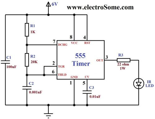 small resolution of infrared remote control for home appliances hobby in electronics ir remote control home appliance circuit diagram