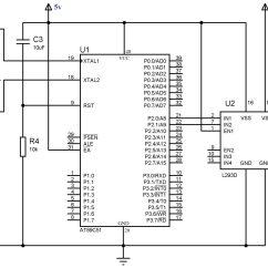 L293d Motor Driver Circuit Diagram 2006 Chevy Colorado Trailer Wiring Pin Of Impremedia