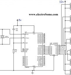 circuit diagram interfacing relay with 8051 using uln2003 [ 2048 x 1666 Pixel ]