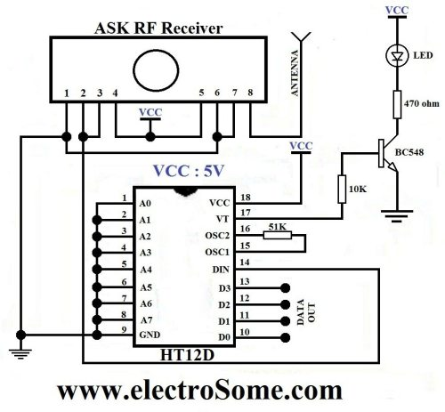 small resolution of receiver circuit diagram ask rf receiver