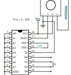 wireless transmitter and receiver using ask rf module rf transmitter circuit diagram pdf rf transmitter circuit diagram [ 830 x 1138 Pixel ]