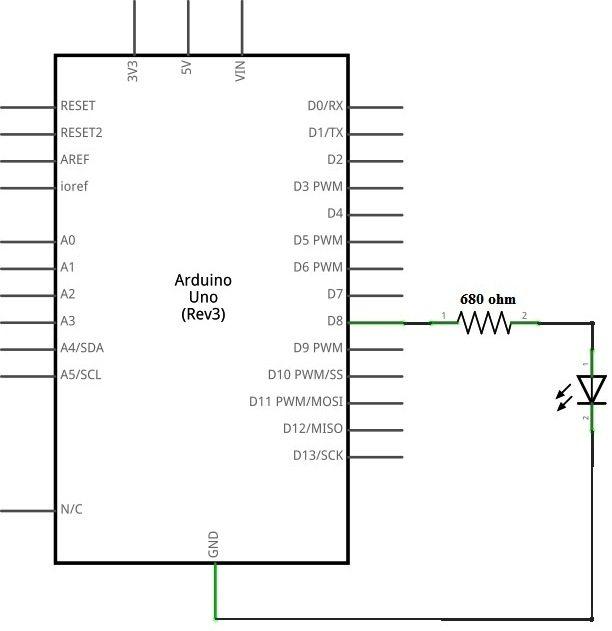 Wiring Diagram For Arduino Uno