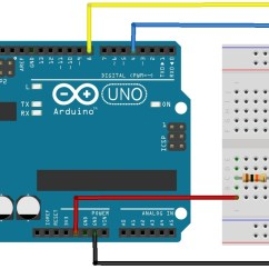 Simple Light Wiring Diagram Blank Ear To Label Using Push Button Switch With Arduino Uno