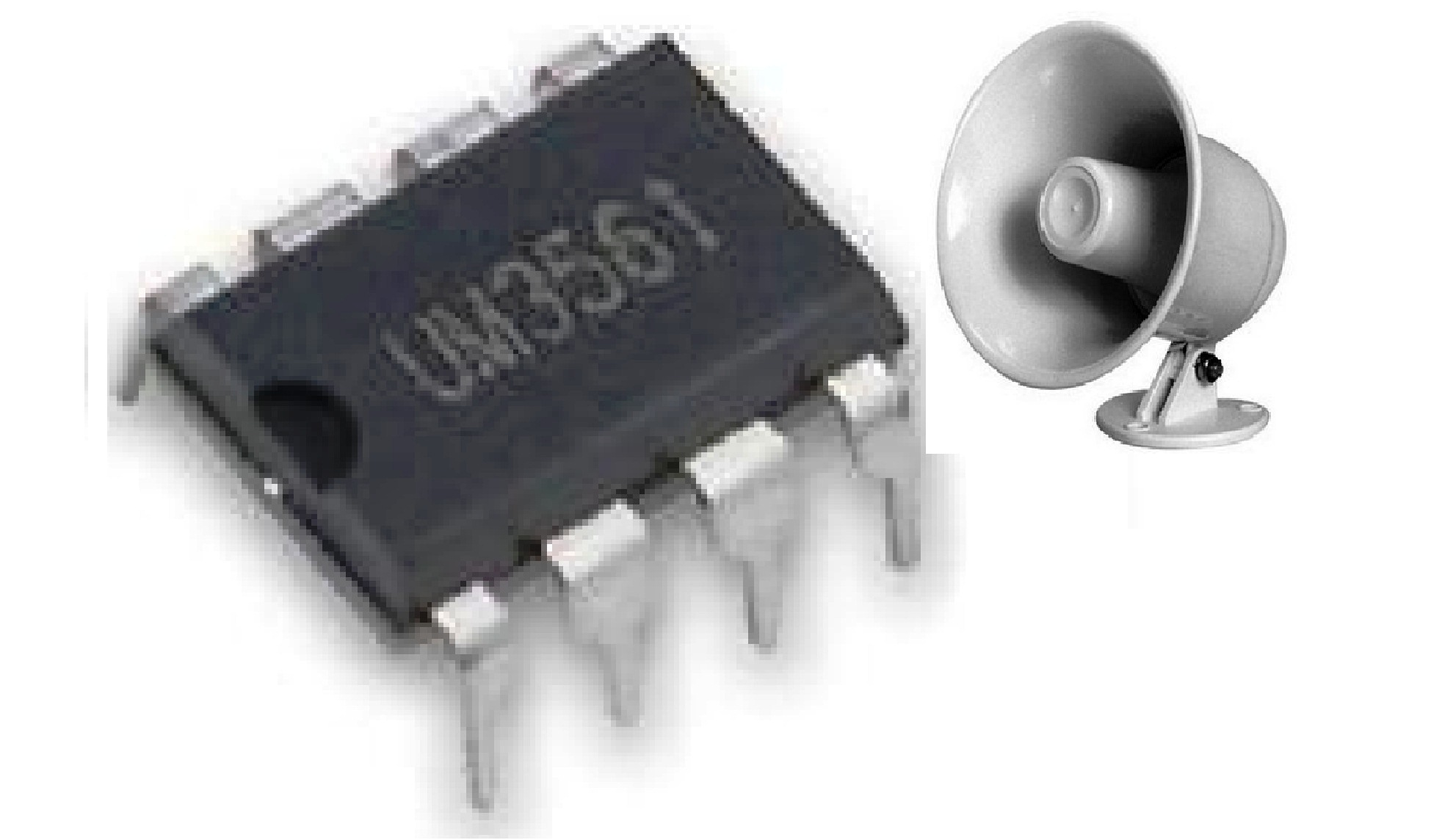 generator avr circuit diagram 2001 dodge ram wiring siren using ic um3561