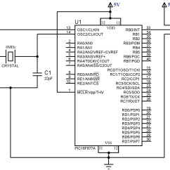 Servo Motor Wiring Diagram Cadet Electric Baseboard Heater Interfacing With Pic Microcontroller Mikroc