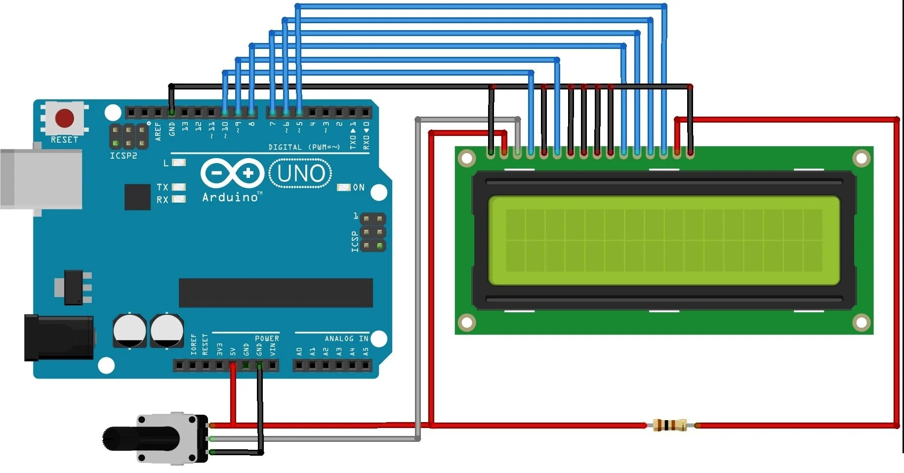 hight resolution of interfacing lcd with arduino uno