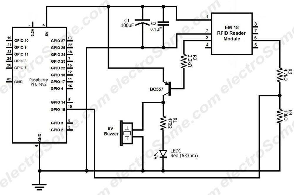 medium resolution of interfacing em 18 rfid reader module with raspberry pi circuit diagram