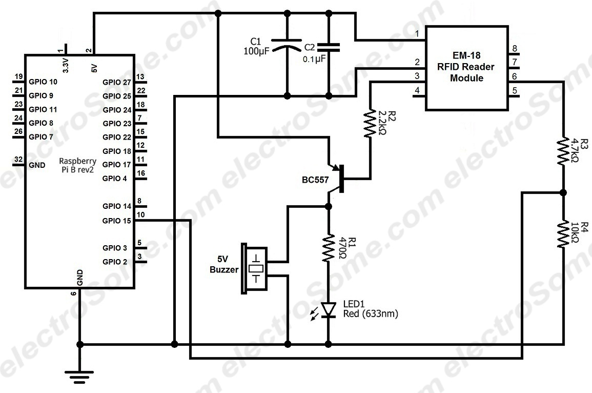 hight resolution of interfacing em 18 rfid reader module with raspberry pi circuit diagram