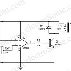 Light Sensitive Switch Circuit Diagram P Bass Body Dimensions Automatic Night Lamp Using Ldr