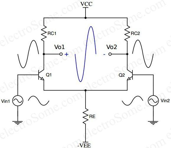 dc voltage amplifier circuit using transistor