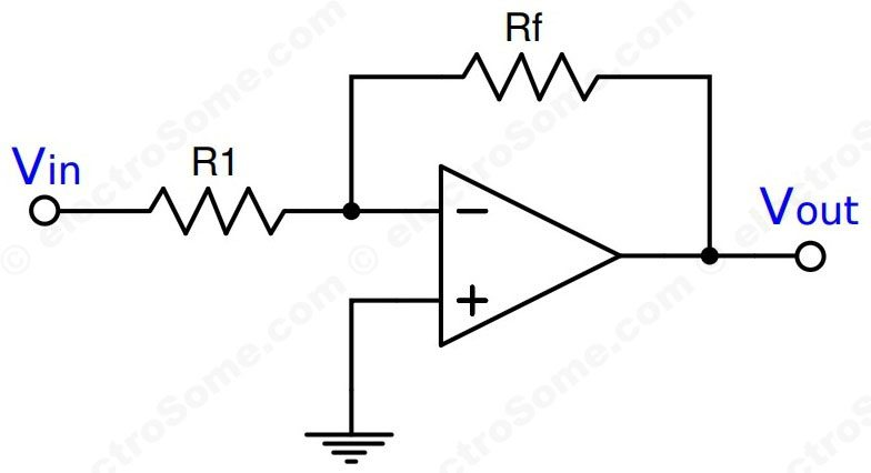 inverting opamp circuits cheggcom