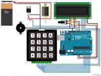 Electronic Keypad Door Lock Circuit. electronic door lock ...