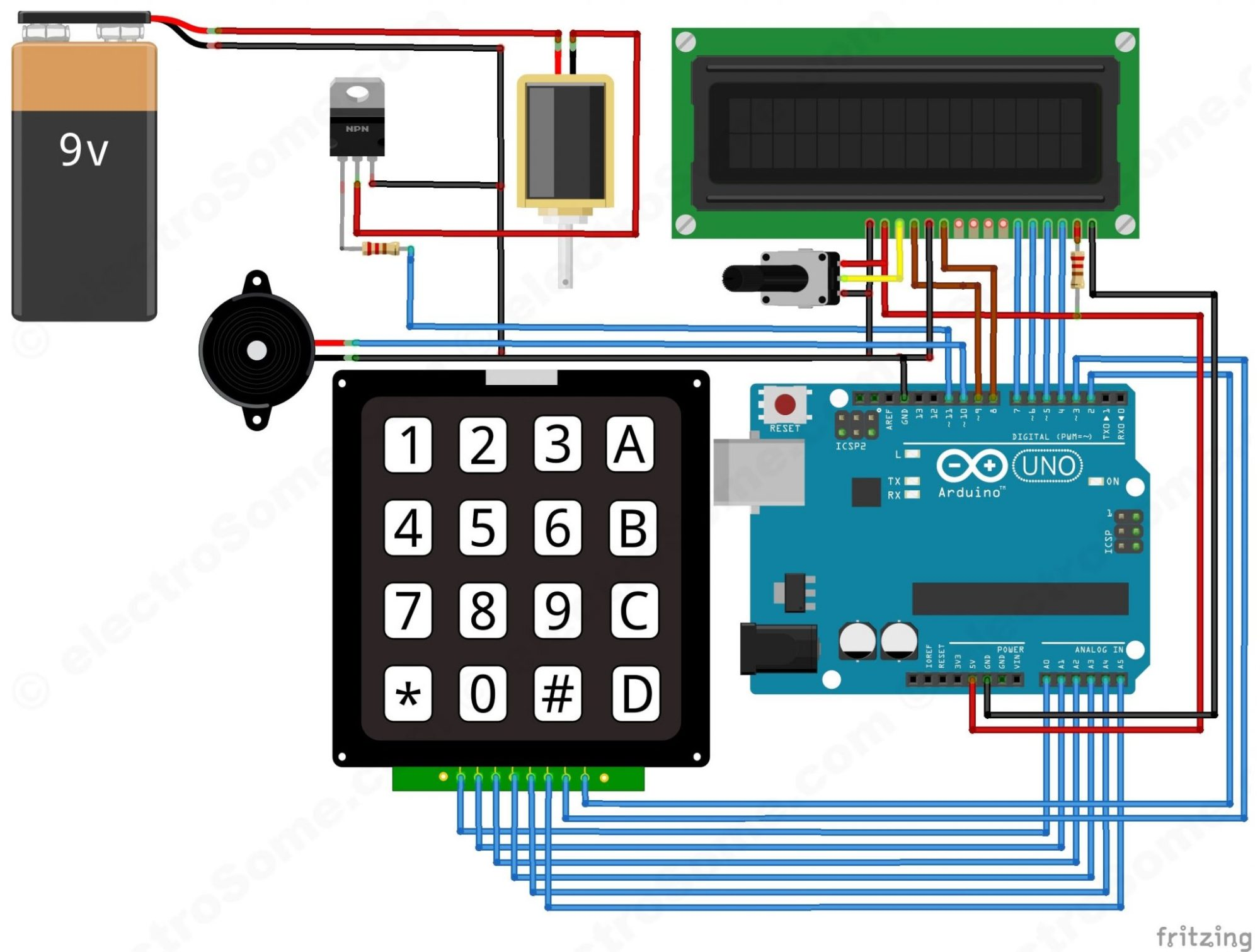 hight resolution of electronic security door key circuit diagram and instructions electronic door lock security key circuit diagram wiring