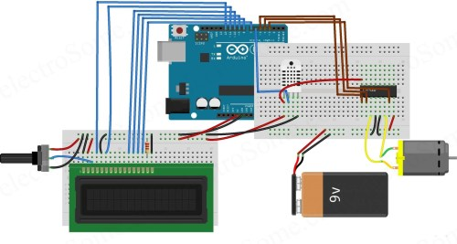 small resolution of temperature controlled fan using arduino circuit diagram