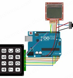 calculator using arduino uno circuit diagram [ 2080 x 1696 Pixel ]