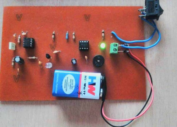 Circuit Project Nonstopfree Electronic Circuits Project Diagram And