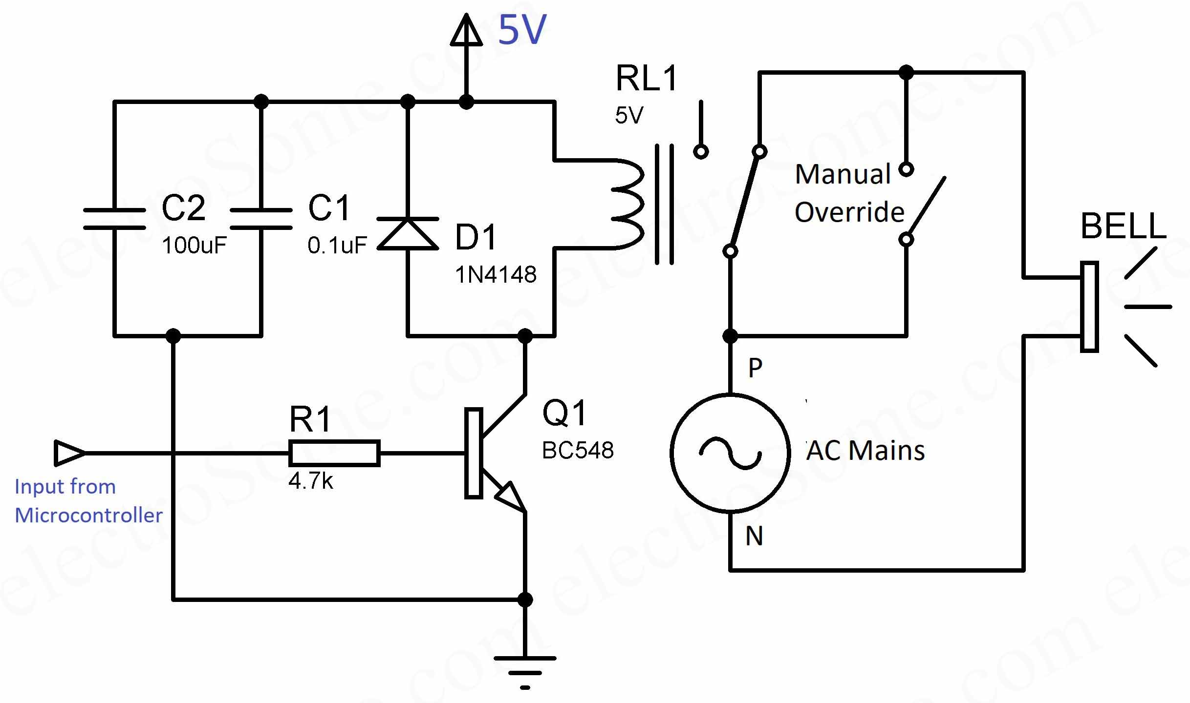 Automatic School College Bell using PIC Microcontroller