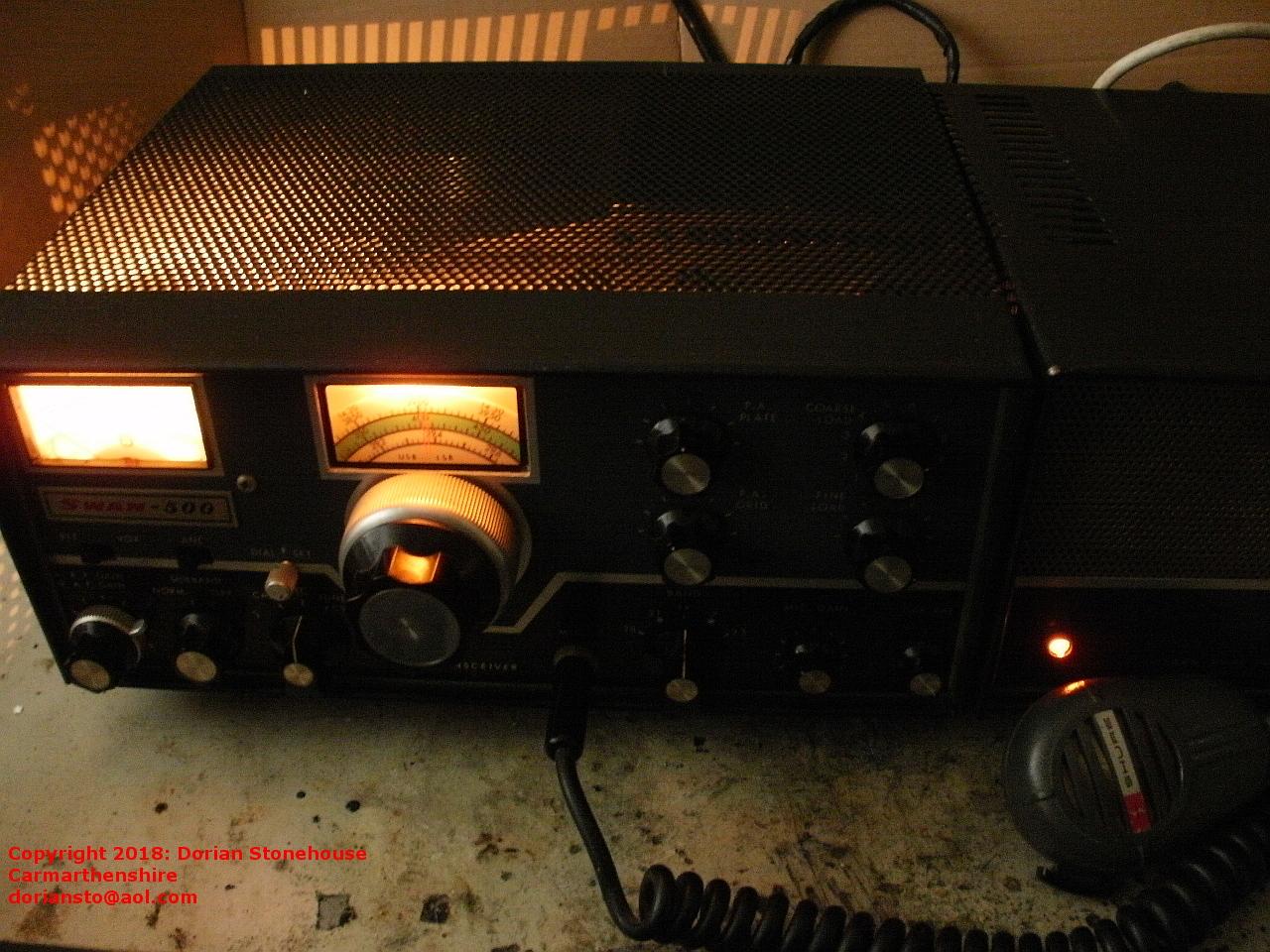 hight resolution of treasure in the loft vintage radio transceiver swan 500 preserved iphone mic wiring mic wiring swan