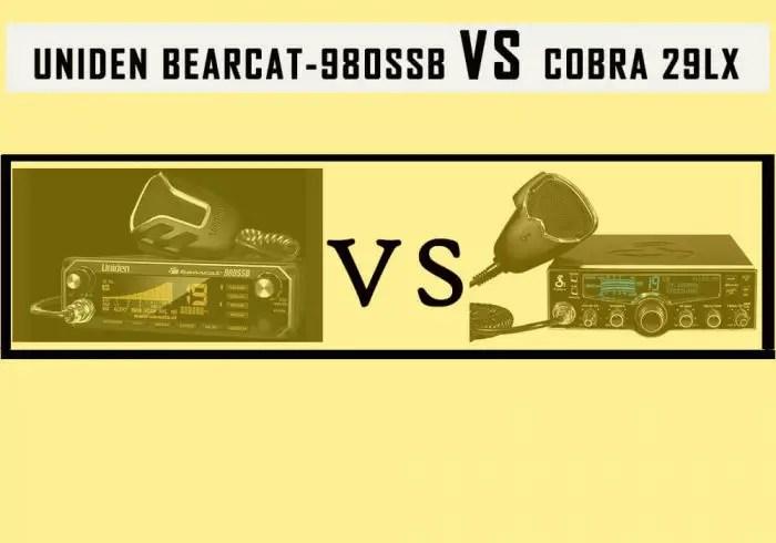 Uniden Bearcat 980SSB vs Cobra 29