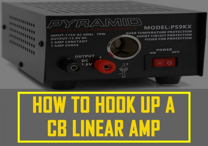 how to hook up a cb linear amp