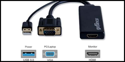 Why hdmi to vga adapter not working fix that