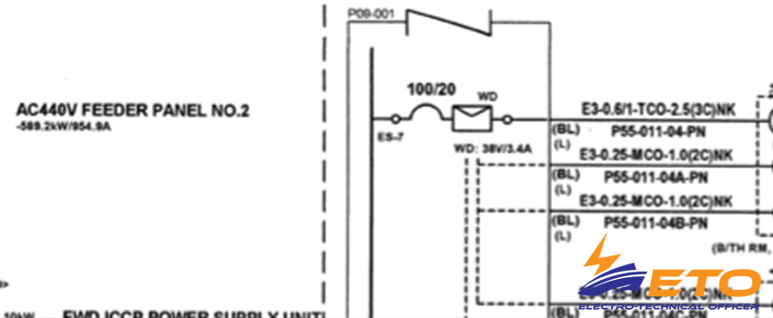 ship electrical circuit diagram archives electro technical officer rh electrotechnical officer com Home Electrical Wiring Diagrams electrical diagram of residential hvac unit