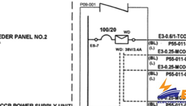 How to find fault on ship wiring diagram?