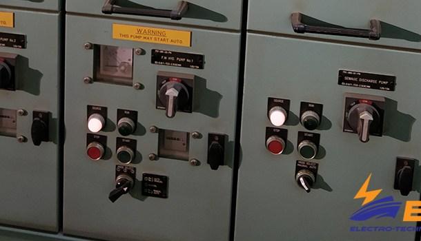 Undervoltage protection of ship electrical system