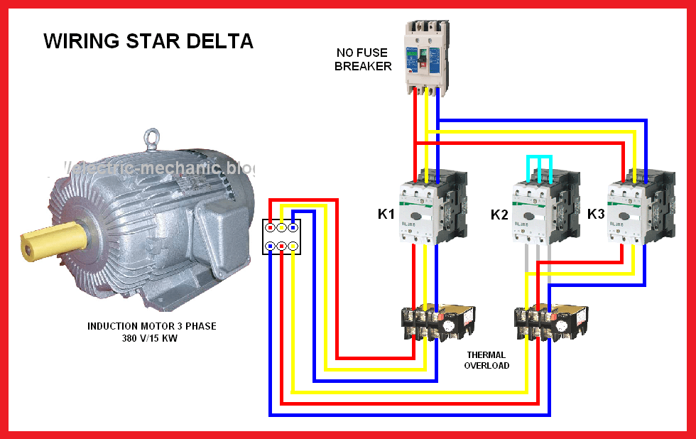 3 Phase Star Delta Motor Connection Diagram Pdf - Wiring ... on