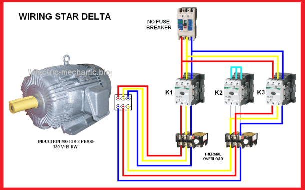 All about Star – Delta starting of ship motors