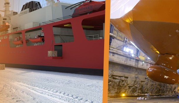 Icebreakers and Ice Going Vessels with Diesel Electrical Propulsion