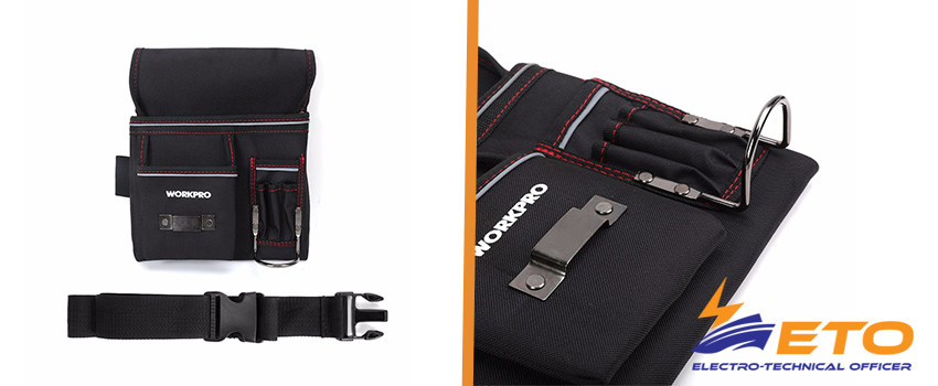 Multifunction Belt Tool Pouch Tool Holder Electrician Waist Tool Bag Convenient Work Organizer