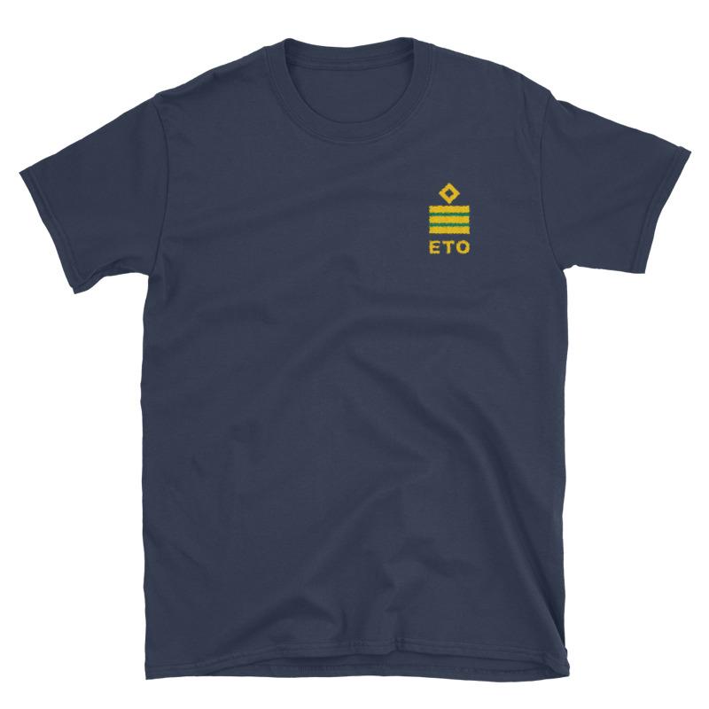 Electro Technical Officer (ETO) working shirt with ship ETO rank (2)