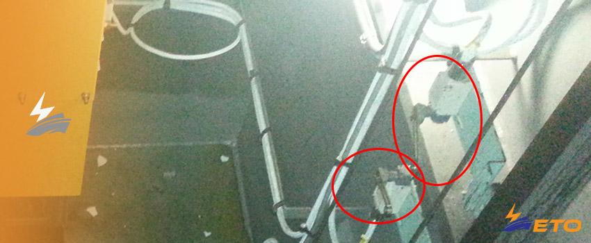 Ship limit switch cause serious problem on ship crane