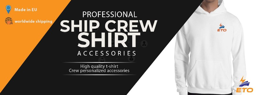ship Electro Technical Officer (ETO) working hoodie