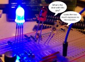 Talking LEDs