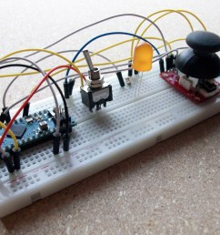 another view of arduino joystick circuit [ 3280 x 2460 Pixel ]