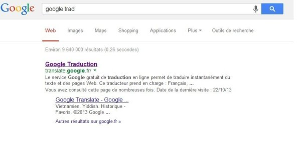 requtete google translation